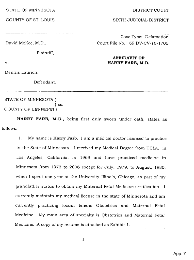 Document-2011-01-25-Harry-Farb-Affidavit-P1