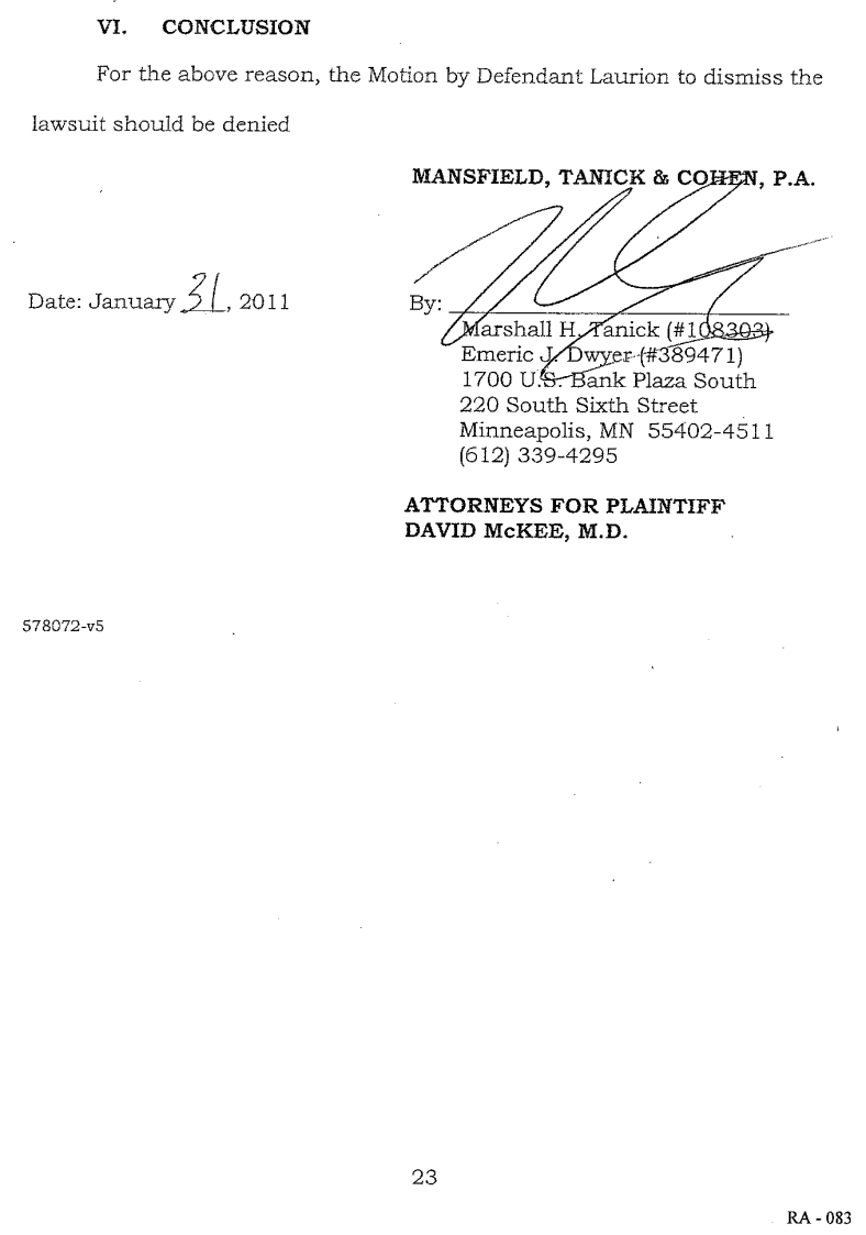 Document-2011-01-31-McKee-Memo-To-Oppose-Motion-For-Dismissal-23