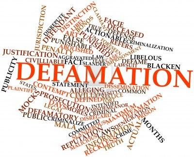 Defamation Montage