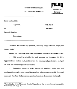 Document-2011-10-31-Appellate-Court-Order-To-Strike-Portions-Of-Appellant-Reply-Brief-1