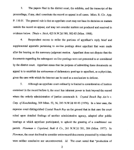 Document-2011-10-31-Appellate-Court-Order-To-Strike-Portions-Of-Appellant-Reply-Brief-2
